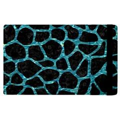 Skin1 Black Marble & Blue Green Water (r) Apple Ipad Pro 9 7   Flip Case