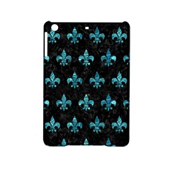 Royal1 Black Marble & Blue Green Water (r) Apple Ipad Mini 2 Hardshell Case by trendistuff