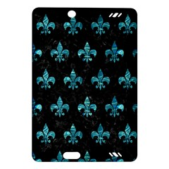 Royal1 Black Marble & Blue Green Water (r) Amazon Kindle Fire Hd (2013) Hardshell Case by trendistuff