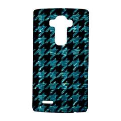 Houndstooth1 Black Marble & Blue Green Water Lg G4 Hardshell Case by trendistuff