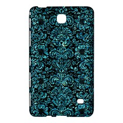 Damask2 Black Marble & Blue Green Water Samsung Galaxy Tab 4 (7 ) Hardshell Case  by trendistuff