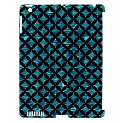 Circles3 Black Marble & Blue Green Water (r) Apple Ipad 3/4 Hardshell Case (compatible With Smart Cover) by trendistuff