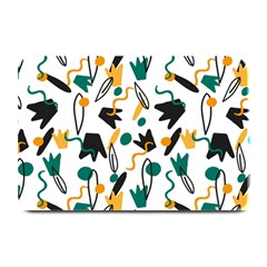 Flowers Duck Legs Line Plate Mats by Mariart