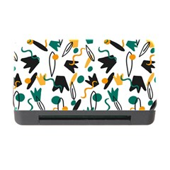 Flowers Duck Legs Line Memory Card Reader With Cf by Mariart