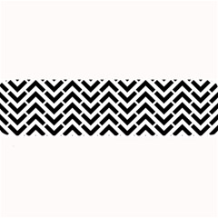 Funky Chevron Stripes Triangles Large Bar Mats by Mariart