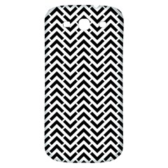 Funky Chevron Stripes Triangles Samsung Galaxy S3 S Iii Classic Hardshell Back Case by Mariart