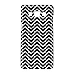 Funky Chevron Stripes Triangles Samsung Galaxy A5 Hardshell Case  by Mariart