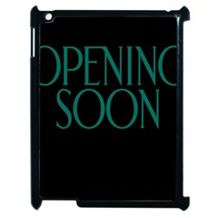 Opening Soon Sign Apple Ipad 2 Case (black) by Mariart