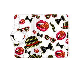 Lip Hat Vector Hipster Example Image Star Sexy Kindle Fire Hd (2013) Flip 360 Case by Mariart