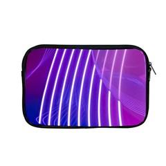 Rays Light Chevron Blue Purple Line Light Apple Macbook Pro 13  Zipper Case by Mariart