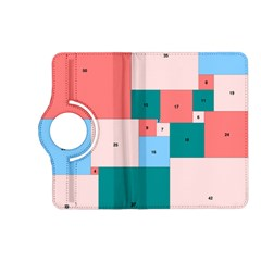 Simple Perfect Squares Squares Order Kindle Fire Hd (2013) Flip 360 Case by Mariart