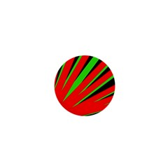 Rays Light Chevron Red Green Black 1  Mini Buttons by Mariart