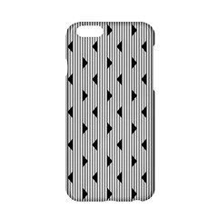 Stripes Line Triangles Vertical Black Apple Iphone 6/6s Hardshell Case by Mariart
