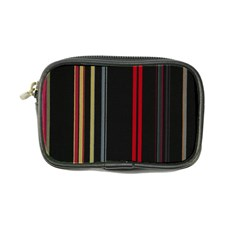 Stripes Line Black Red Coin Purse by Mariart