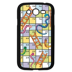 Snakes Ladders Game Board Samsung Galaxy Grand Duos I9082 Case (black) by Mariart