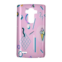 Vintage Unique Graphics Memphis Style Geometric Lg G4 Hardshell Case by Mariart