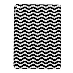 Waves Stripes Triangles Wave Chevron Black Ipad Air 2 Hardshell Cases by Mariart