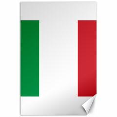National Flag Of Italy  Canvas 24  X 36  by abbeyz71