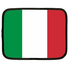 National Flag Of Italy  Netbook Case (xl)  by abbeyz71
