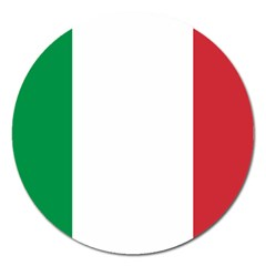 National Flag Of Italy  Magnet 5  (round) by abbeyz71