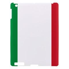 National Flag Of Italy  Apple Ipad 3/4 Hardshell Case by abbeyz71
