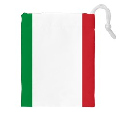National Flag Of Italy  Drawstring Pouches (xxl) by abbeyz71