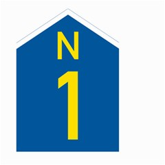 South Africa National Route N1 Marker Small Garden Flag (two Sides) by abbeyz71