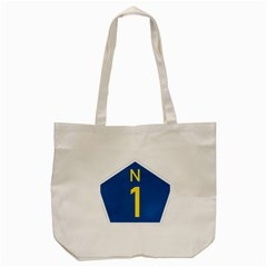 South Africa National Route N1 Marker Tote Bag (cream) by abbeyz71