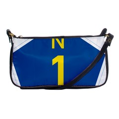 South Africa National Route N1 Marker Shoulder Clutch Bags by abbeyz71