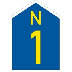South Africa National Route N1 Marker 5 5  X 8 5  Notebooks by abbeyz71