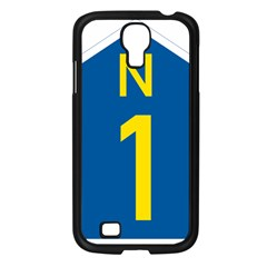 South Africa National Route N1 Marker Samsung Galaxy S4 I9500/ I9505 Case (black) by abbeyz71