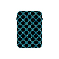 Circles2 Black Marble & Blue Green Water (r) Apple Ipad Mini Protective Soft Case by trendistuff