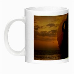 Steampunk Fractalscape, A Ship For All Destinations Night Luminous Mugs by beautifulfractals