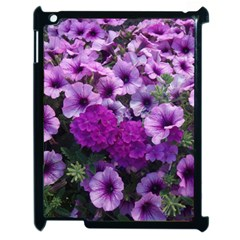 Wonderful Lilac Flower Mix Apple Ipad 2 Case (black) by MoreColorsinLife
