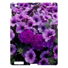 Wonderful Lilac Flower Mix Apple Ipad 3/4 Hardshell Case by MoreColorsinLife