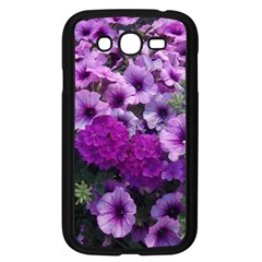 Wonderful Lilac Flower Mix Samsung Galaxy Grand Duos I9082 Case (black) by MoreColorsinLife
