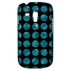 Circles1 Black Marble & Blue Green Water Samsung Galaxy S3 Mini I8190 Hardshell Case by trendistuff