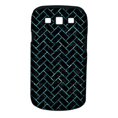 Brick2 Black Marble & Blue Green Water Samsung Galaxy S Iii Classic Hardshell Case (pc+silicone) by trendistuff