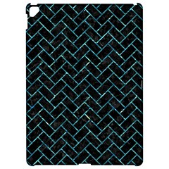 Brick2 Black Marble & Blue Green Water Apple Ipad Pro 12 9   Hardshell Case by trendistuff