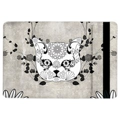 Wonderful Sugar Cat Skull Ipad Air 2 Flip by FantasyWorld7