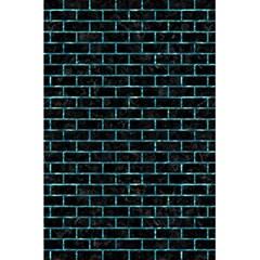 Brick1 Black Marble & Blue Green Water 5 5  X 8 5  Notebook by trendistuff