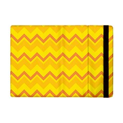 Zigzag (orange And Yellow) Ipad Mini 2 Flip Cases by berwies