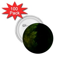 Beautiful Fractal Pines In The Misty Spring Night 1 75  Buttons (100 Pack)  by beautifulfractals