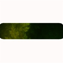 Beautiful Fractal Pines In The Misty Spring Night Large Bar Mats by beautifulfractals