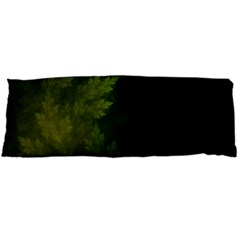 Beautiful Fractal Pines In The Misty Spring Night Body Pillow Case Dakimakura (two Sides) by beautifulfractals