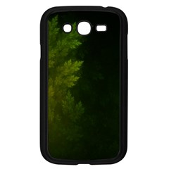 Beautiful Fractal Pines In The Misty Spring Night Samsung Galaxy Grand Duos I9082 Case (black) by beautifulfractals