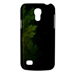 Beautiful Fractal Pines In The Misty Spring Night Galaxy S4 Mini by beautifulfractals