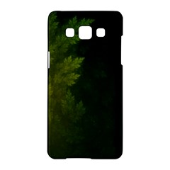 Beautiful Fractal Pines In The Misty Spring Night Samsung Galaxy A5 Hardshell Case  by beautifulfractals