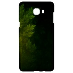 Beautiful Fractal Pines In The Misty Spring Night Samsung C9 Pro Hardshell Case  by beautifulfractals