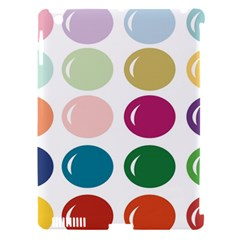 Brights Pastels Bubble Balloon Color Rainbow Apple Ipad 3/4 Hardshell Case (compatible With Smart Cover) by Mariart